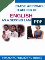 Communicative English as a Second Language
