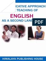 Communicative English as a Second Language