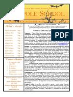 Walpole Schools Newsletter