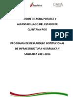 Agua Potable y Acantillarado Del Estado de Quintana Roo