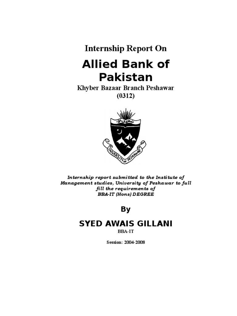 internship report on ubl bank 40