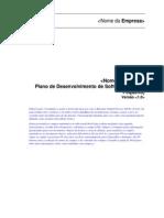 Plano de Desenvolvimento de Software