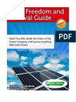 Solar FreeSolarFreedomandSurvivalGuidedom and Survival Guide