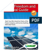 Solar FreeSolarFreedomandSurvivalGuidedom and Survival Guide