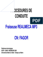 Notice Fraiseuse MP3