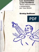 Goffman Erving Los Momentos y Sus Hombres 1