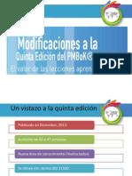modificacionesalaquintaedicindelpmbok-130123104518-phpapp01