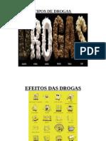 Tipos e Efeitos de Drogas