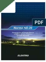 ND.26 - Fornecimento de Energia a Edificio de Uso Coletivo e Medicao Agrupada