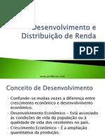 Aula 11 - Desenvolvimento e Distribuição de Renda