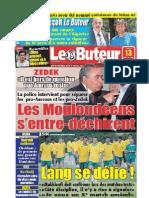 LE BUTEUR PDF du 13/07/2009
