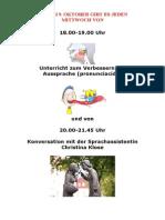 Phonetik Und Konversationsunterricht