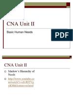 cna unit ii