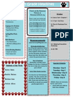 Week 9 Newsletter
