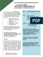 Supervisory Safety Mgmt 101 11-13-13 Flier
