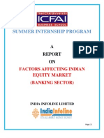 A Report on Banking Sector Analysis- Factors Affecting Indian Banking Sector