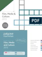 FilmMediaCutlure2013