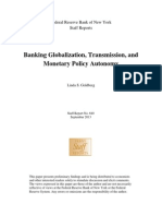 Banking Globalization, Transmission, and Monetary Policy Autonomy
