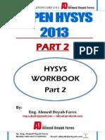 Aspen Hysys 8 WorkBook