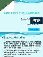 Applets y Simuladores Para Matematicas1