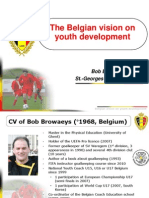 Belgian Vision on Youth Development FA