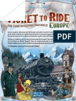 Ticket to Ride Europe-RO