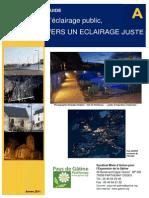 A-L Eclairage Public-guide Materiaux Pays Gatine 2011