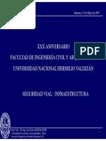 Seguridad Vial Infraestructura - Unheval