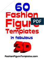 60 Fashion Figure Templates in 3D