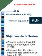 Base Datos Avanzado II - Sesion06 Introduccion PLSQL