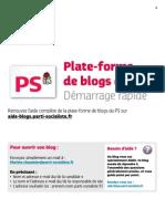 Les blogs du PS - Demarrage rapide.pdf