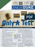 Working@Duke - October, 2008