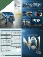 Toyota Innova Facelift 2013 Brochure