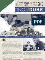 Working@Duke - May, 2007