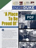 Working@Duke - March, 2007