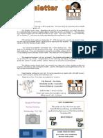October 2013 Newsletter