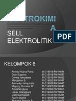 Sel Elektrolitik