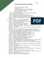 EXPANSÃO CRONOLÓGICA DE MISSÕES