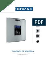 Catalogo Control de Accesos 2012