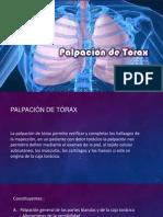 Palpación de Tórax