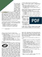 Geologia e Biologia - Teste Intermédio 4