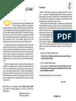 OCT 13 Newsletter
