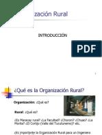 Introducción Org. Rural 2013