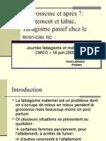 Allaitement Maternel Et Tabagisme Dr Labassi