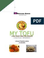 My Tofu Business Plan