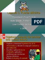 Tippens Fisica 7e Diapositivas 23 - Fuerza Electrica