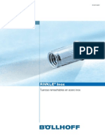 2B. Tuercas Remachables RIVKLE en Acero Inox 09