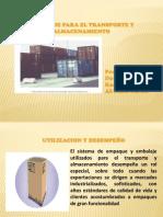 Presentación embalaje y almacenamiento