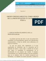 El logos predicamental - Capítulo 1