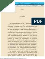 Curso de teoría del conocimiento - Tomo I - Prólogo